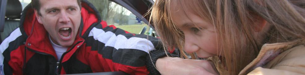 Kinder vor Entführung , Gewalt  schützen