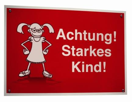 """Achtung! Starkes Kind!"""