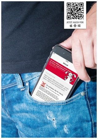 Informieren Sie sich mobil über Sicherheit
